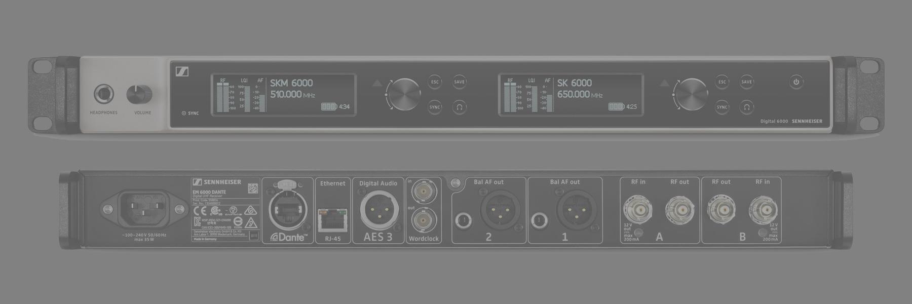 Digital 6000 Wireless Microphone System
